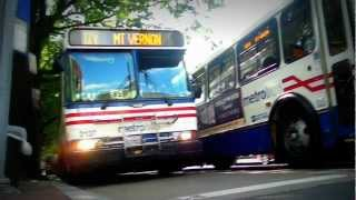 WMATA (Metrobus): 2000 Orion V [05.501] (Diesel) #2137 on Route 11Y @ H Street