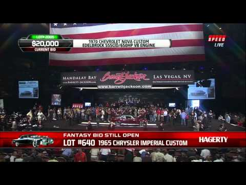 Barrett Jackson Nova Mission Continues Charity Auction
