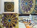 Pintar cuadros - Mandala - Mixed Media -