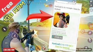FORTNITE CLONE | FORTCRAFT ANDROID 1GB/2GB RAM [DOWNLOAD]《TECHBOLT》
