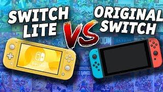 Nintendo Switch Lite Vs  Nintendo Switch Original! Which Switch Should You Buy?