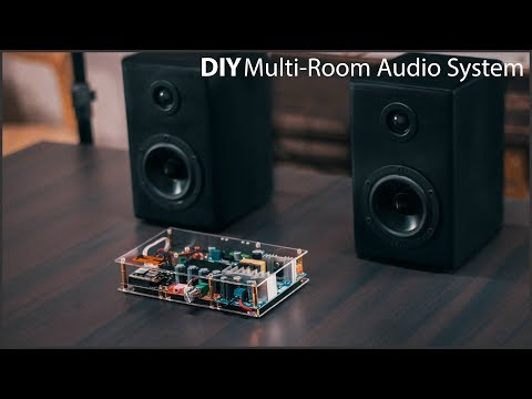DIY Multi-Room Wifi Audio System