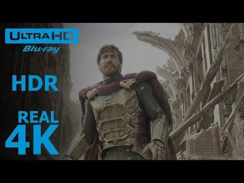 Spider-Man: Far From Home - Trailer 1 (4K - HDR)