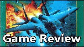 F-15 Strike Eagle II Sega Genesis Review - The No Swear Gamer Ep 340
