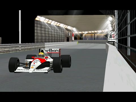 [F1C] (C&D 1991) Circuit de Monaco (Night Version) by Brunnera