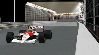 [F1C] (C&D 1991) Circuit de Monaco (Night Version) by Brunnera