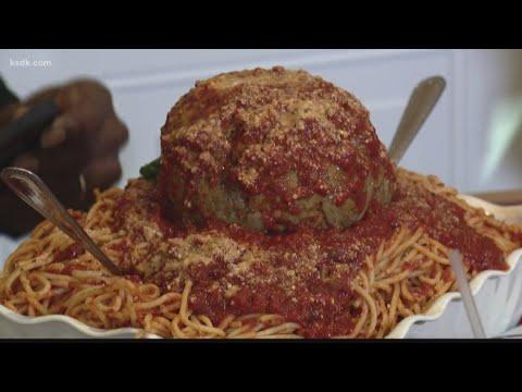 Man vs food recipes meatballs 7 Pounds Of Food The Tisl Team Takes On Mama S Spaghetti Challenge Youtube