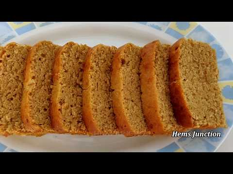Eggless Whole Wheat Jaggery Cake Recipe | Healthy Teatime Cake Recipe | Aata Gud ka Cake
