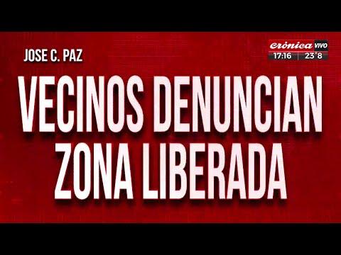 Vecinos Denuncian Zona Liberada En José C. Paz