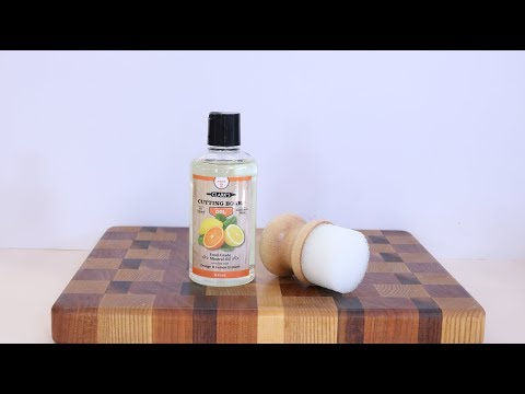 Clarks Food Safe Cutting Board products   with Sam Angelo wyomingwoodturner