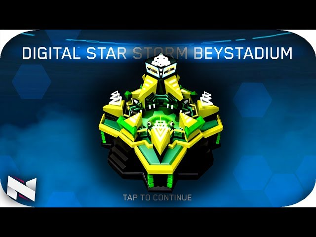 How To Get The STAR STORM STADIUM On The Beyblade Burst App!
