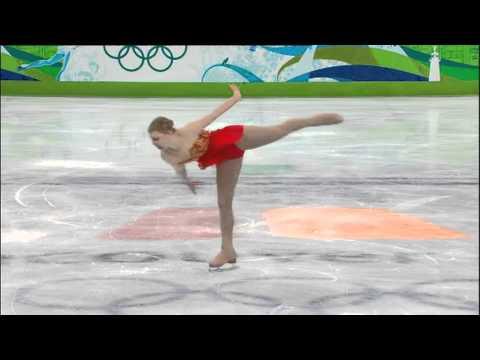 Rachael Flatt 2010 Olympics Free Program