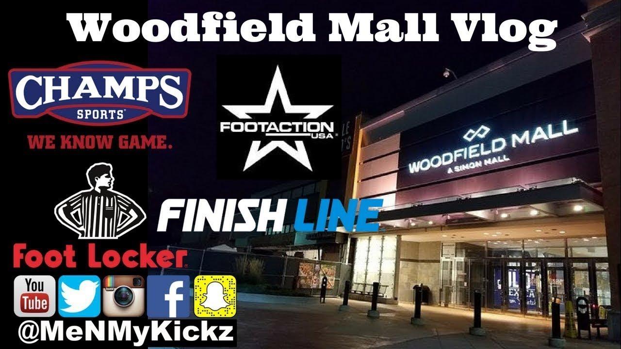 Woodfield Mall Vlog I Footlocker, Champs Sports, Footaction, Finish Line I  Schaumburg, Illinois