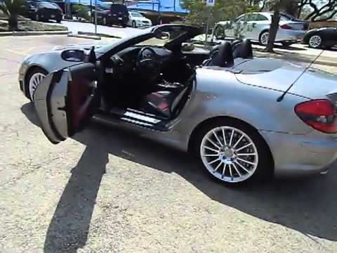 2006 mercedes benz slk55 amg convertible san antonio tx i13326b youtube. Black Bedroom Furniture Sets. Home Design Ideas