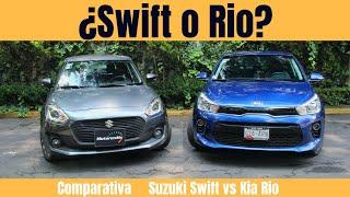 Comparativa | Suzuki Swift vs KIA Rio | Motoren Mx