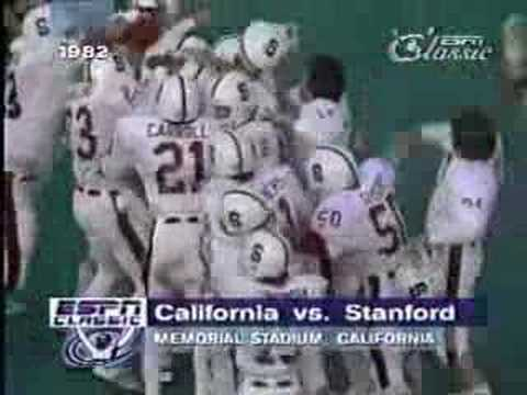 1982 Cal vs Stanford