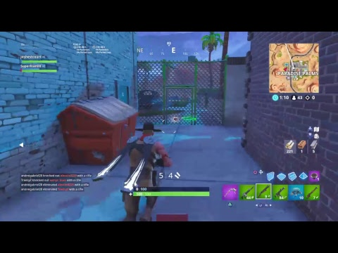 Playing For Wins Fortnite