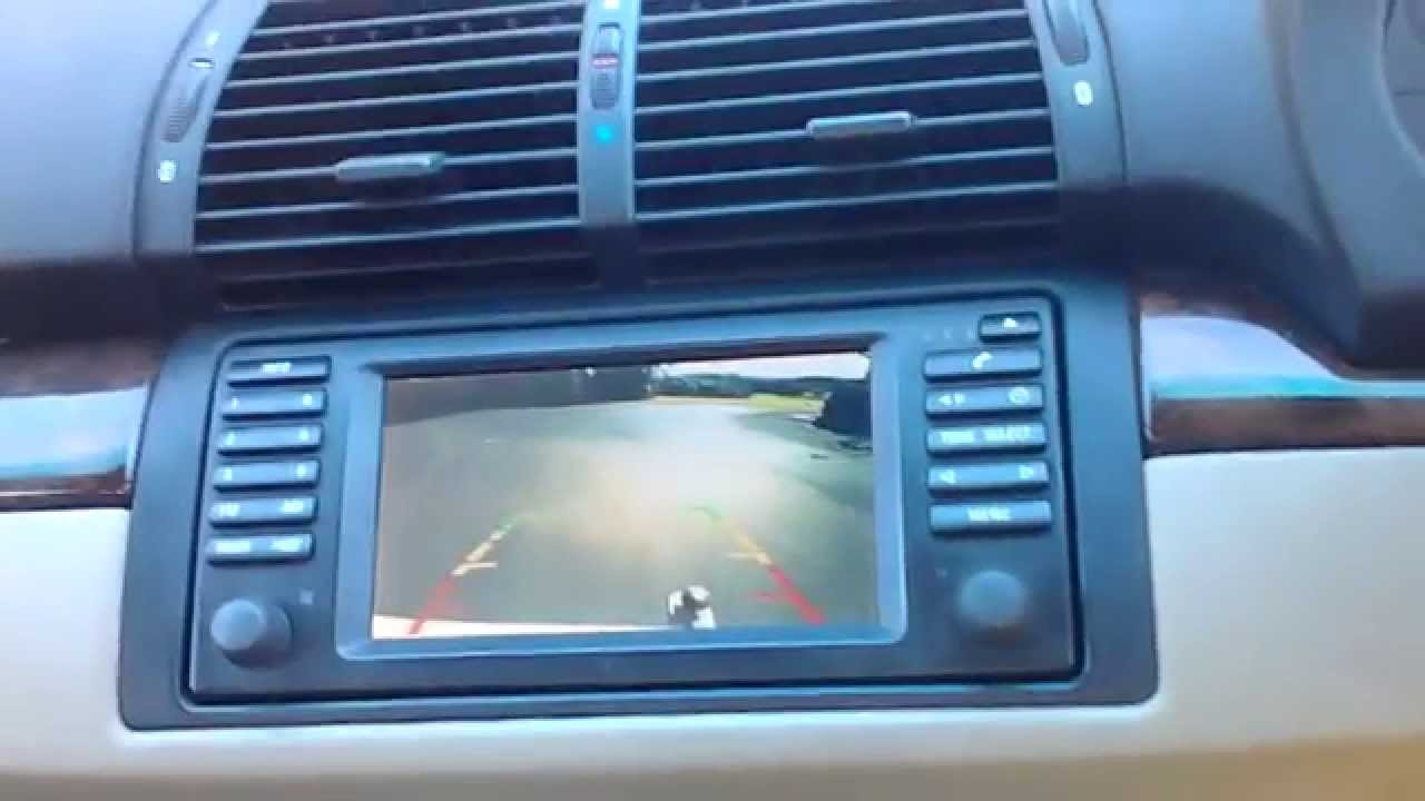 BMW and Range Rover Backup Camera Overview  YouTube