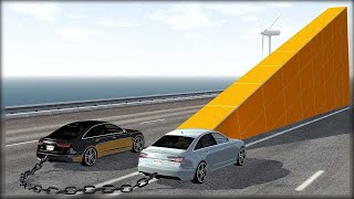 CHAINED UP #6 - Ramps - {NO MUSIC} - BeamNG.Drive Crashes