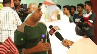 On Location film shoot at mumbai .Lalita pawar production.Directer Sameer pawar