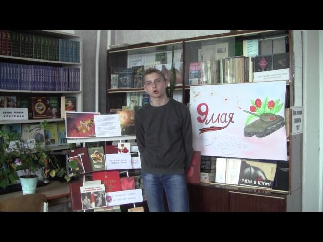 Изображение предпросмотра прочтения – ВиталийНедвига читает произведение «Донбасс» Г.П.Аксенова