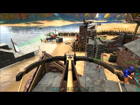 ARK Survival Evolved #24: Fortress PVP Raid