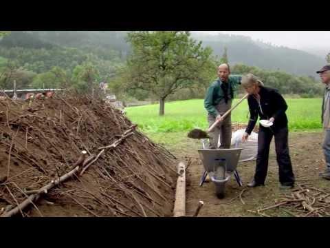 Hügelbeet bauen - Hugelculture (Sepp Holzer Style)