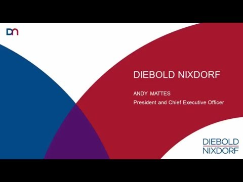 Diebold Nixdorf CEO, Andy Mattes Keynote Speech at Self-Service Banking Europe 2017 | RBR