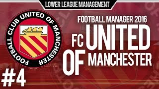 Football Manager 2016 LLM Playthrough | FC United of Manchester #4 | Need More Consistency