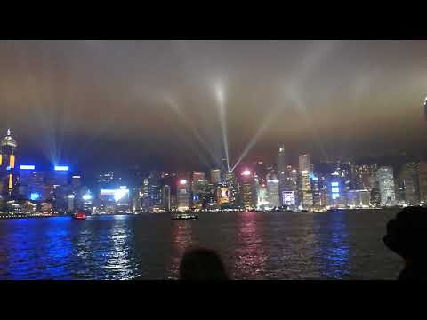 A Symphony of Lights - Victoria Harbour - Hong Kong