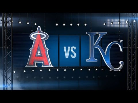 7/25/16: Pujols' four RBIs lift Angels over Royals