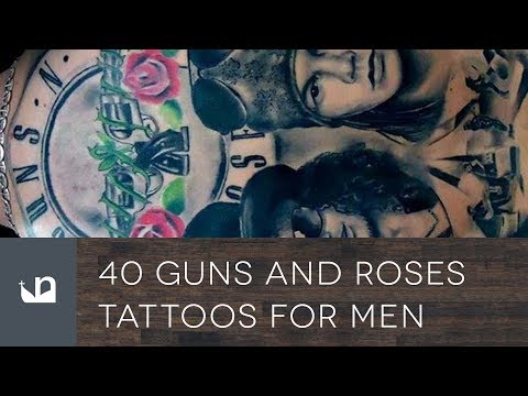 40 Guns And Roses Tattoos For Men