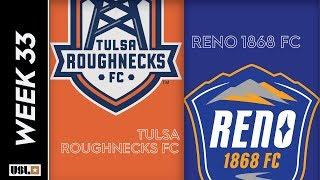 Tulsa Roughnecks FC Vs. Reno 1868 FC October 19 2019