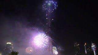 New Year 2011-2012 Fireworks Burj Khalifa Dubai Full Video 1080p HD
