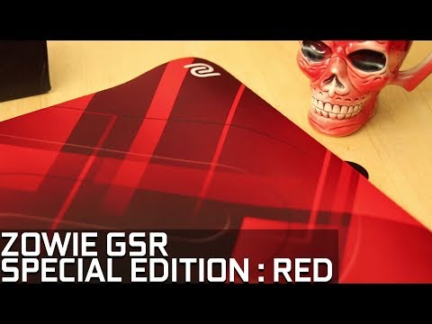 Zowie GSR Special Edition Red | Large Gaming Mousepad