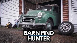 Hot rods, Ardun heads, and a forgotten Morris Minor   Barn Find Hunter - Ep. 83 (UK Trip 3/5)