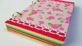DIY : #131 Colorful Notebook Ring ♥