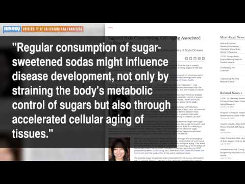 Study Links Soda To Accelerated DNA Aging