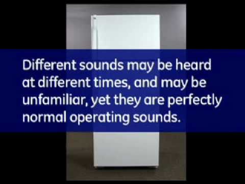 Normal Sounds and Noises a Refrigerator Makes