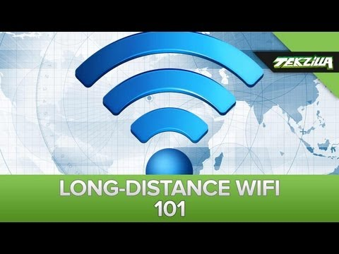 Stretch Your WiFi Signal For 3000 Feet!