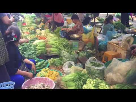 Art of Living In Asian Market - Amazing Cambodian Village Food - Food Tour In Phnom Penh Market