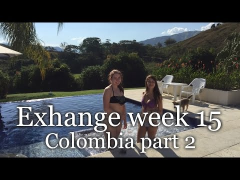 Exchange week 15   ♡ Vacation in Colombia PART 2