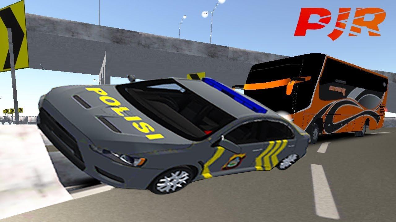 Review Idbs Mobil Polisi Hampir Senggol Bus Game Simulator Android