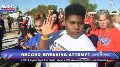 WOW: Nearly 4,000 Avondale Students BREAK Guinness World Record for LONGEST High-Five Chain - FNN