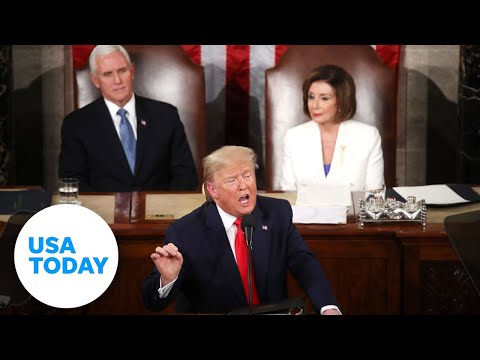 Full State Of The Union 2020: President Trump's Address   USA TODAY