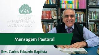 Culto   Edificação   Salmo 2    Pr. Carlos Eduardo Baptista   IPVP