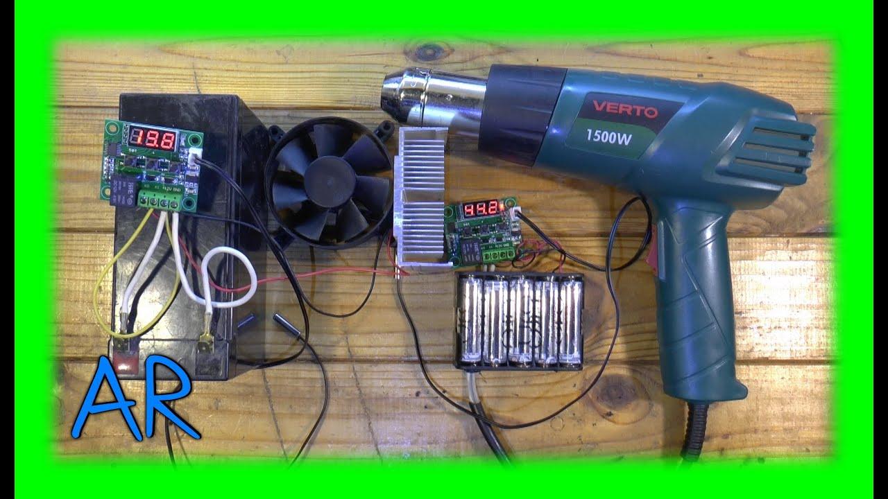 схема плавный терморегулятор