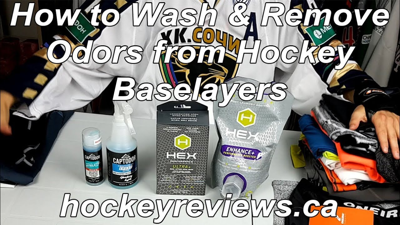 4dd09dca0ce How To Wash Hockey Baselayers   How To Remove Hockey Smell From Them. Hockey  Reviews
