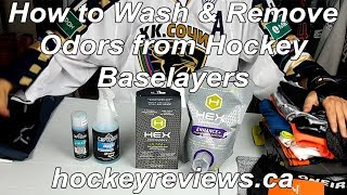 How To Wash Hockey Baselayers & How To Remove Hockey Smell From Them