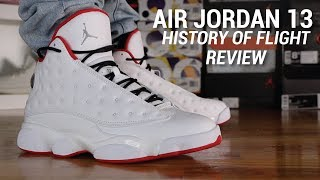 AIR JORDAN 13 HISTORY OF FLIGHT REVIEW